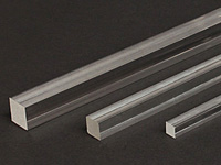 Acrylic Rod Clear Extruded - Square