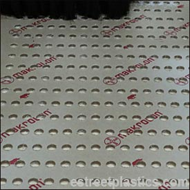 polycarbonate sheet with holes
