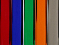 Acrylic Rod - Transparent Colored
