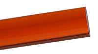 Acrylic Rod - Transparent Orange