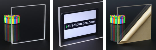 clear plexiglass sheets