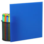 Blue Plexiglass Sheets 2051