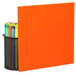 Orange Plexiglass Sheets 2119