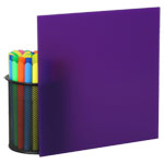 Purple Plexiglass Sheets 2287