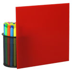 Red Plexiglass Sheets 2283