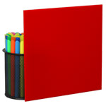 Red Plexiglass Sheets 2793