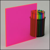Fluorescent Acrylic Plexiglass Sheets