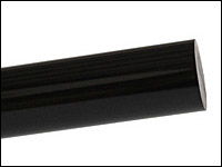Acrylic Rod Black Extruded - Round