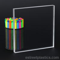 Clear Plexiglass Acrylic