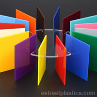 Sample Chips: Solid Color Plexiglass