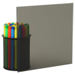 Transparent Grey Plexiglass Acrylic Sheets 2064