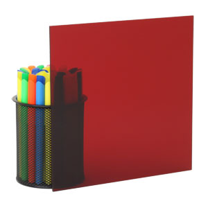 transparent red plexiglass 2423 - Colored Transparent Sheets