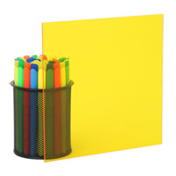 transparent yellow plexiglass 2208 - Colored Transparent Sheets