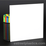 White Plexiglass Acrylic - Sample Chip Set