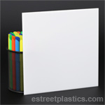 White P95 Plexiglass Acrylic #7328 (matte 1 side)
