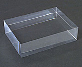 Plexiglass Polished Edge