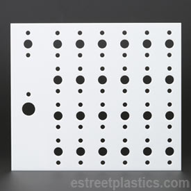 plexiglass sheet with holes
